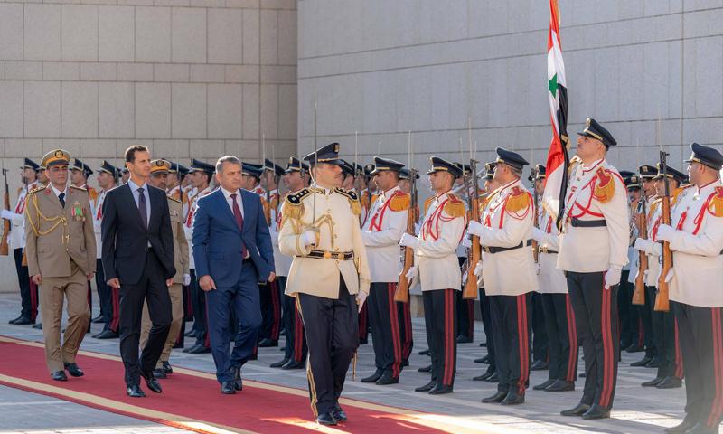 رئيس أوسيتيا الجنوبية في زيارة إلى دمشق- 23 تموز 2018 (سانا)