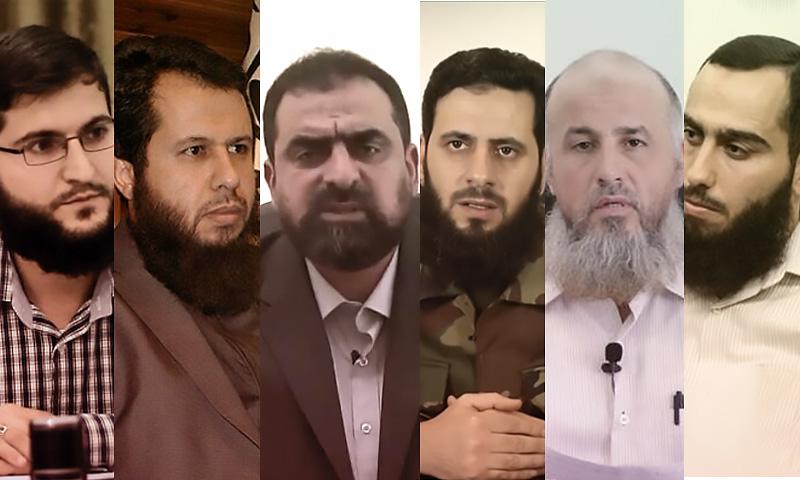 قادة حركة أحرار الشام من المؤسس حسان عبود أبو عبد الله الحموي -(تعديل عنب بلدي)