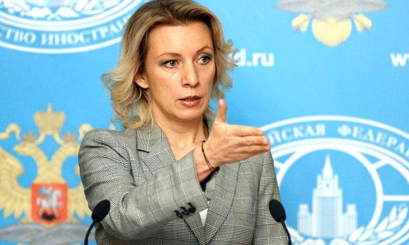 المتحدة باسم الخارجية الروسية ماريا زاخاروفا (وكالات روسية)