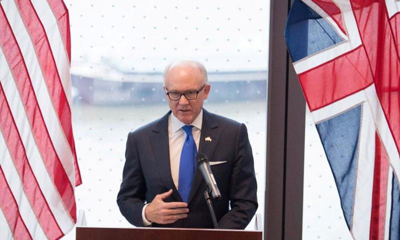 السفير الأمريكي لدى بريطانيا، وودي جونسون (وكالات عالمية)