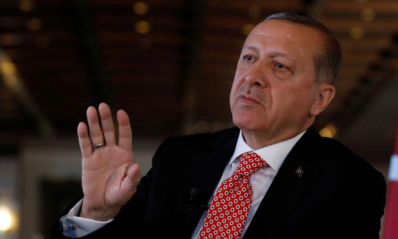 الرئيس التركي رجب طيب أردوغان (الاناضول)
