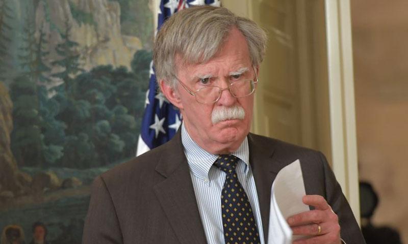 جون بولتون - مستشار الرئيس الأميركي لشؤون الأمن القومي (الحرة)