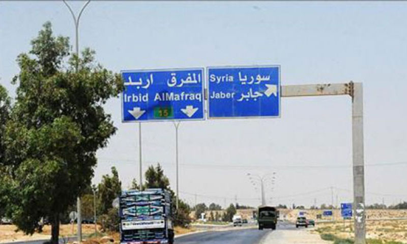 معبر نصيب الحدودي بين الأردن وسوريا (ناشطون)
