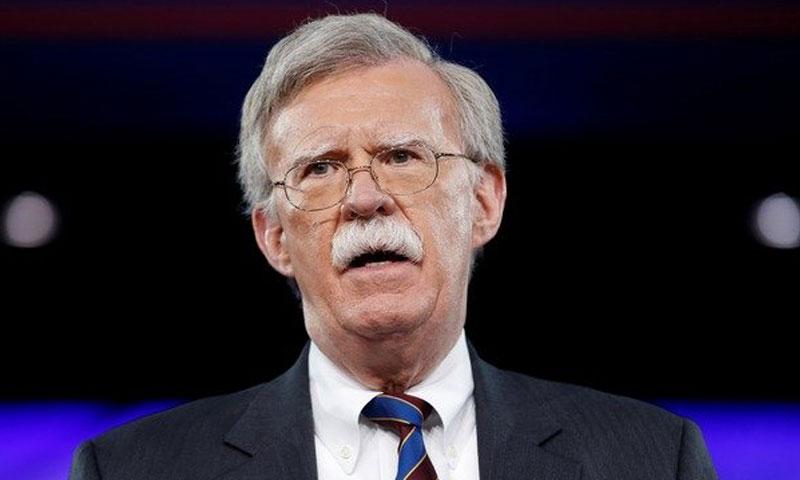مستشار الأمن القومي الأمريكي، جون بولتون (هآرتس)