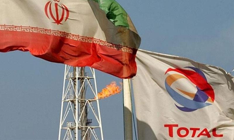 """شركة النفاط الفرنسية """"توتال"""" في جنوبي إيران (وكالة فارس)"""