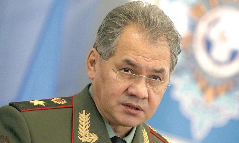 وزير الدفاع الروسي سيرغي شويغو (تاس)
