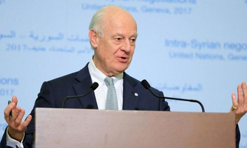 المبعوث الأممي إلى سوريا، ستافان دي مستورا (BriefingNews)