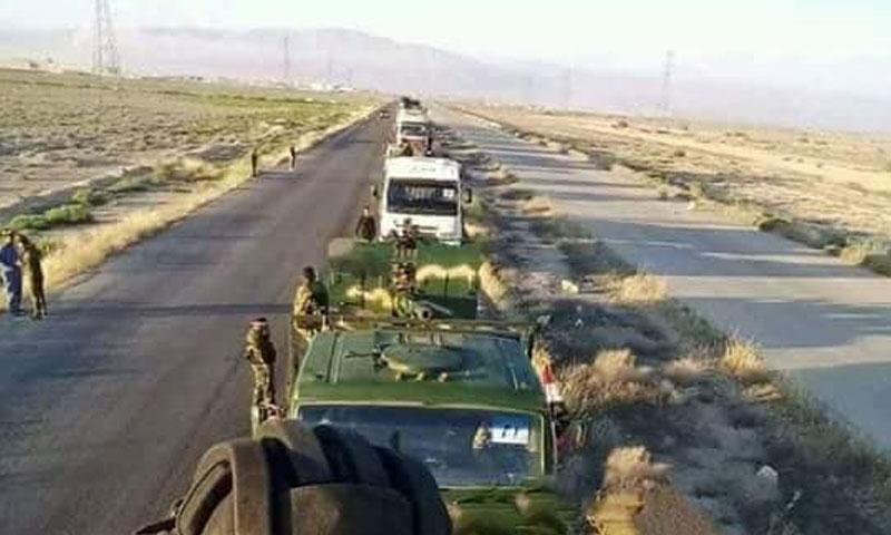 حشود عسكرية لقواتالأسد باتجاه إدلب (شبكة أخبار السقيلبية)