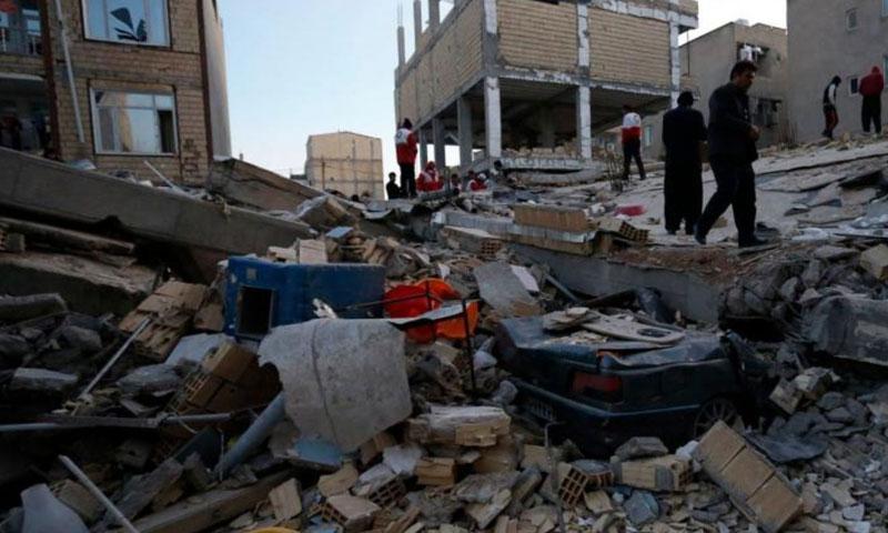 زلزال في كرمنشاه بإيران- 2017 (رويترز)