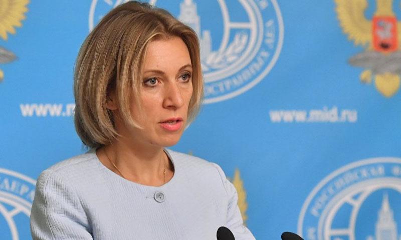 المتحدثة باسم الخارجية، ماريا زاخاروفا (سبوتنيك)