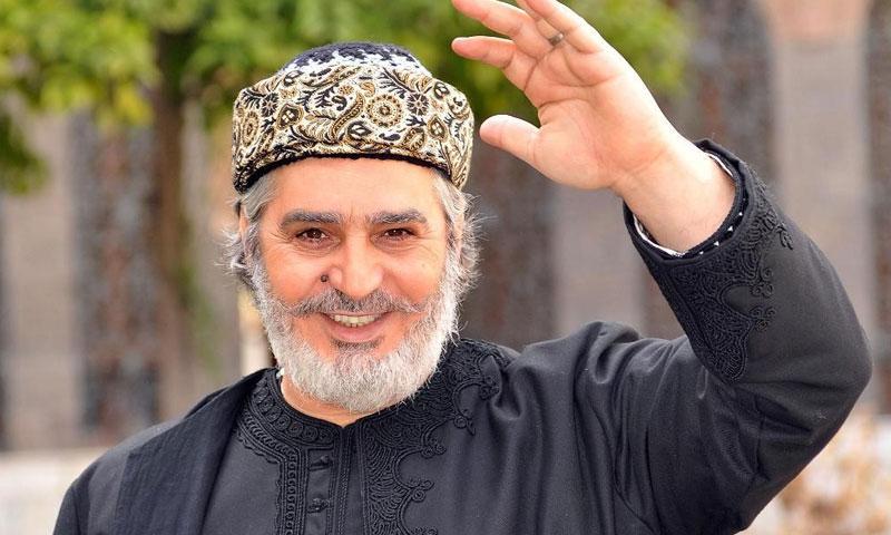 الممثل عباس النوري في مسلسل أهل الراية (يوتيوب)