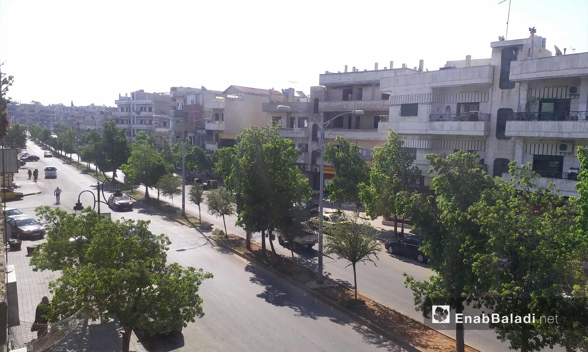 حي الحمرا في مدينة حمص - 19 من آب 2018 (عنب بلدي)