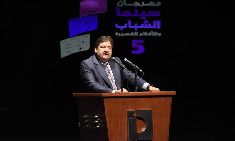 وزير الثقافة محمد الأحمد (رئاسة مجلس الوزراء)