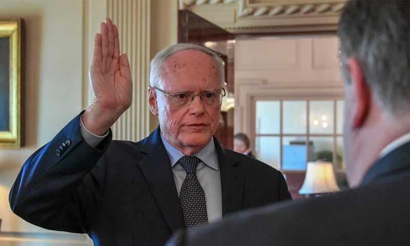 تعيين السفير الأمريكي السابق لدى العراق جيم جيفري مستشارًا بالشأن السوري- 17 آب 2018 (الخارجية الأمريكية)