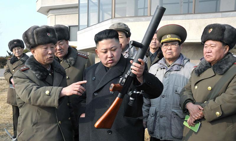 التفت كوريا الشمالية على العقوبات المفروضة عليها وباعت أسلحة ونفط بطريقة غير شرعية (AFP)