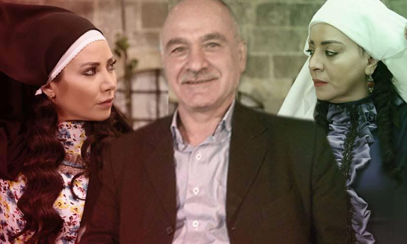 الكاتب مروان قاووق، والممثلتان شكران مرتجى وسلافة معمار