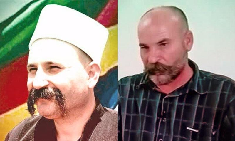 المعتقل وافد أبو ترابي والشيخ وحيد البلعوس (تعديل عنب بلدي)