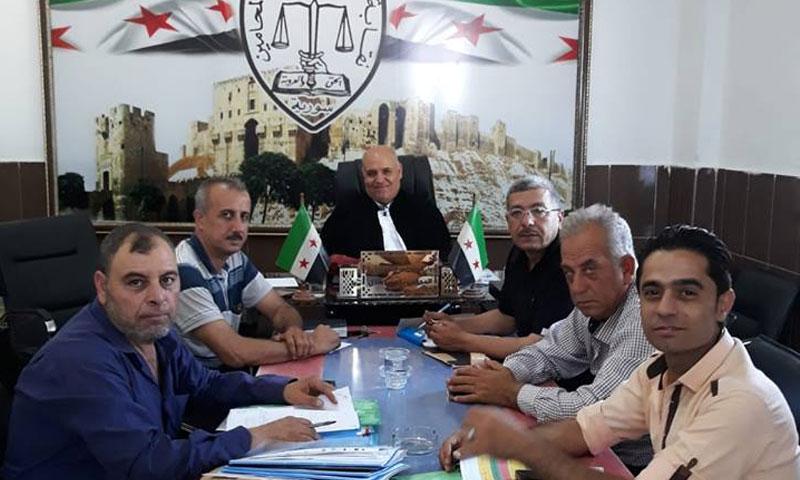 نقابة المحامين الأحرار في حلب (فيس بوك)