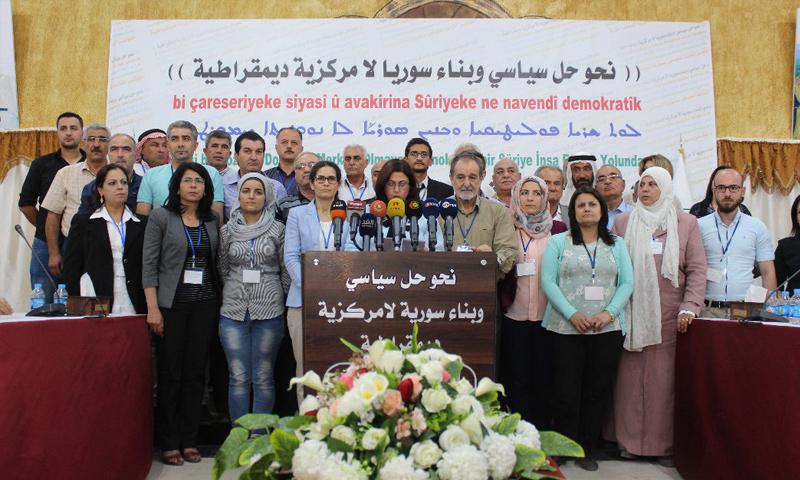 مؤتمر فعاليات المؤتمر الاعتيادي الثالث لمجلس سوريا الديمقراطية- 17 تموز 2018 (قوات سوريا الديمقراطية)