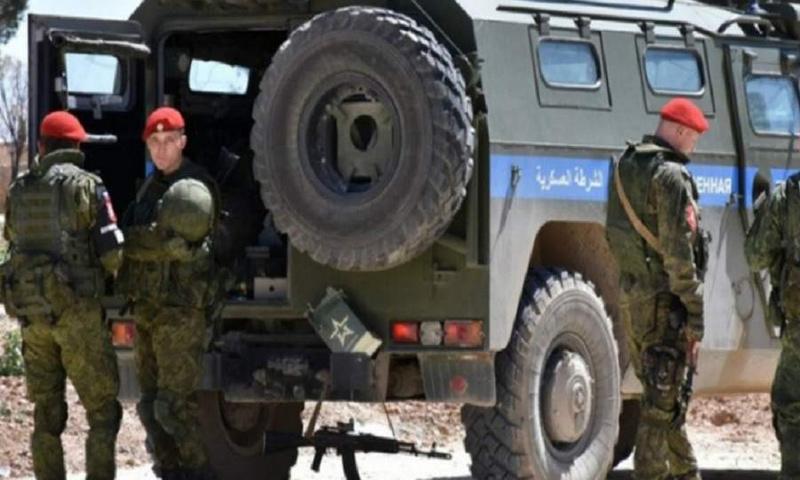 عناصر من الشرطة الروسية في سوريا - (انترنت)