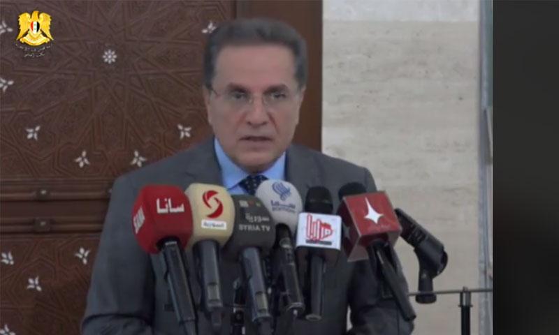 وزير العدل هشام الشعار (رئاسة الوزراء فيس بوك)
