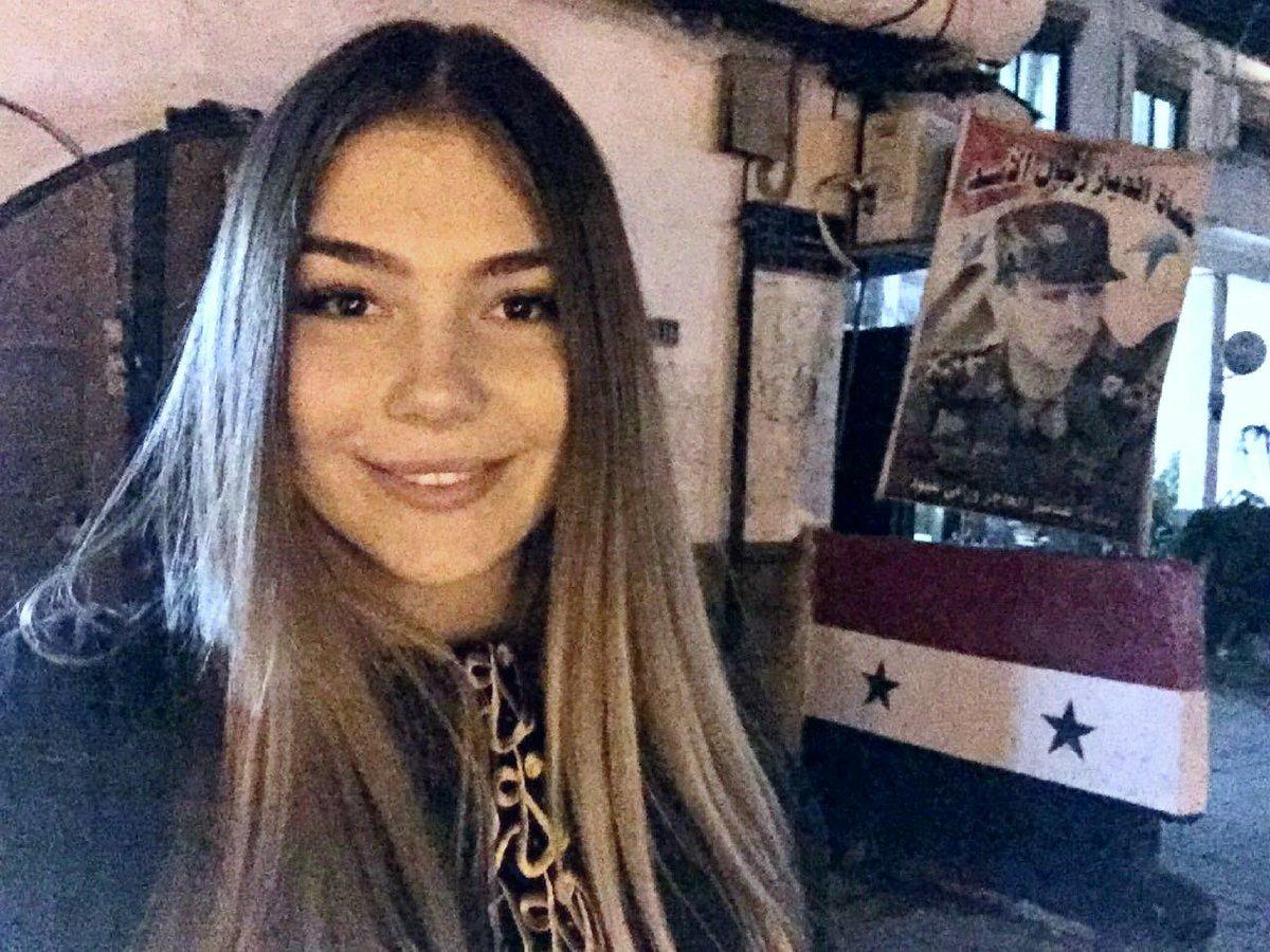 الروسية مريانا ناووموفا(فيس بوك)