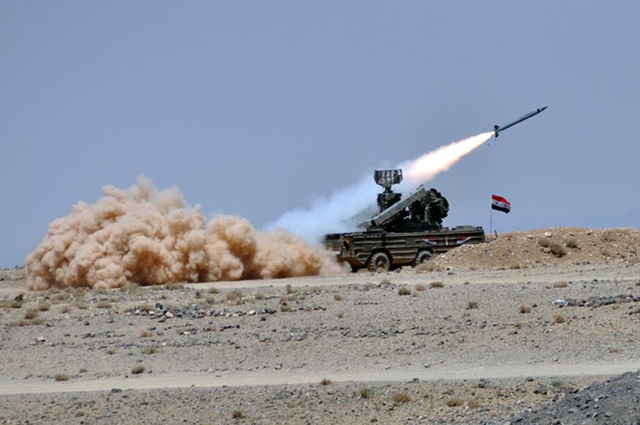 """نظام الدفاع """" 9K33 Osa""""الروسي الصنع (الموسوعة العسكرية السورية)"""
