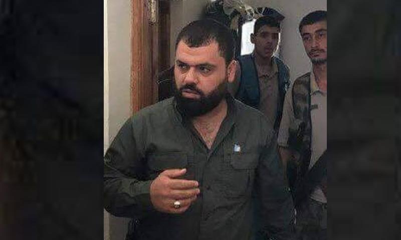 مدير أمنية اعزاز السابق أحمد زيدان (حجي حريتان)