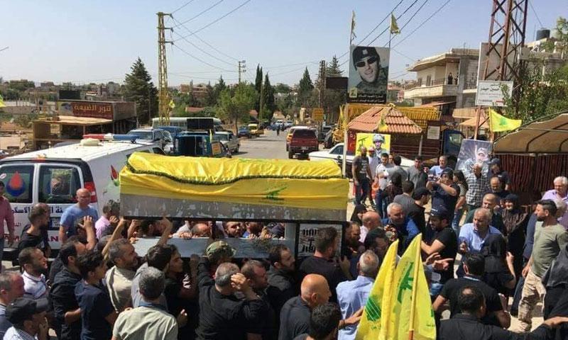 ووصول جثمان طارق ابراهيم حيدر في كفردان البقاعية في لبنان 1 أيلول 2018 (TheReal_Casper)
