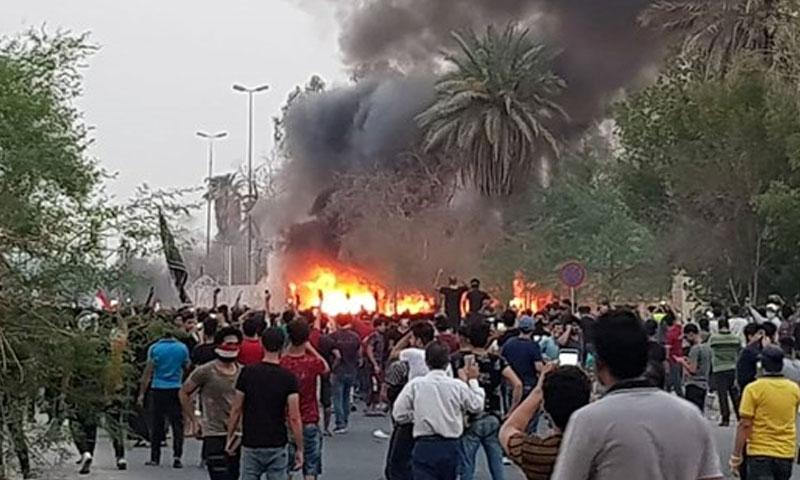 احتجاجات في العراق 2018 (أخبار العراق)