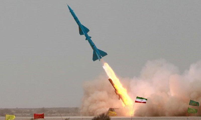 إطلاق صواريخ إيرانية (وكالة فارس)