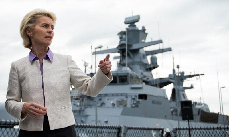 وزيرة الدفاع الألمانية أوزولا فون دير لاين (DW)