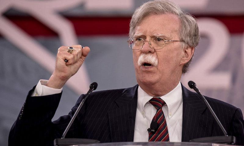 مستشار الأمن القومي للرئيس دونالد ترامب، جون بولتون (The Daily )
