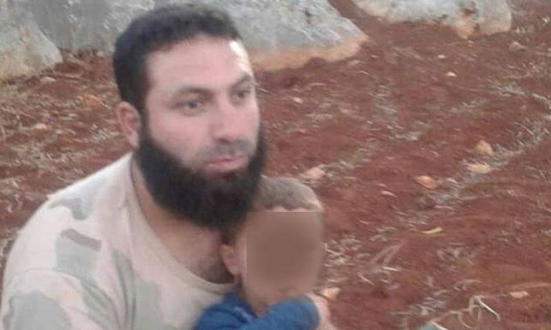 القائد العسكري لدى تنظيم حراس الدين الملقب بالسياف (مرصد اخبار ادلب الشاملة)