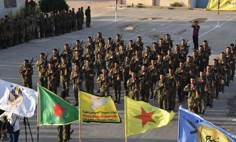 افتتاح دورات تدريبية لقوات قسد 2 أيلول 2018 (الموقع الرسمي لقوات سوريا الديمقراطية)