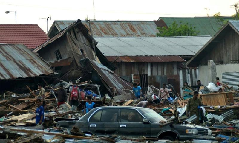 زلزال ضرب إندونيسيا 28 أيلول 2018 (فرانس برس)