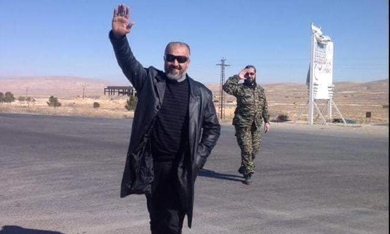 القيادي في قوات الأسد محمد سلهب أبو علي - (فيس بوك)