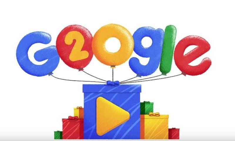 احتفالية جوجل (يوتيوب)