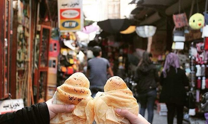 محل كروسان القيمرية في دمشق القديمة (فيس بوك)