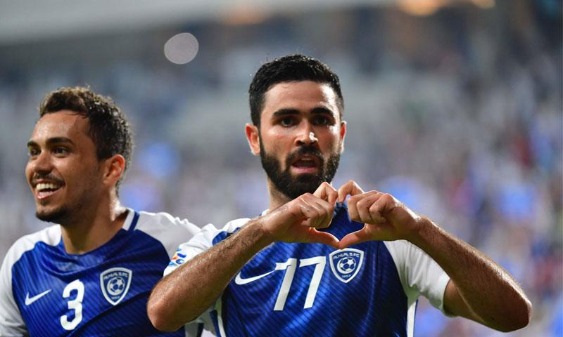 اللاعب السوري عمر خريبين (FIFA .COM)