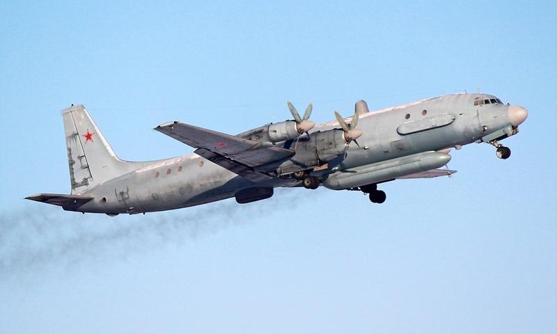 """تعبيرية: طائرة روسية من نوع """"إيل 20"""""""