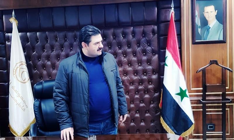 رجل الأعمال السوري محمد براء القاطرجي (فيس بوك)
