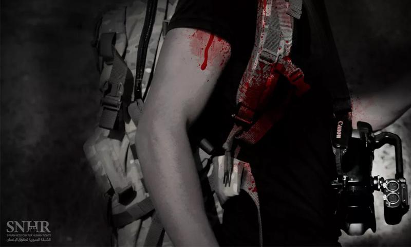 تعبيرية: انتهاكات بحق الكوادر الإعلامية في سوريا (الشبكة السورية لحقوق الإنسان)