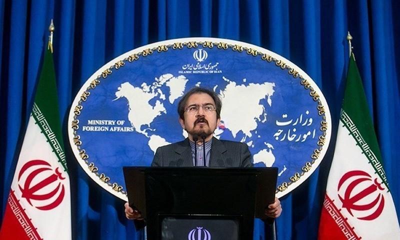 المتحدث باسم الخارجية الإيرانية بهرام قاسمي - (تسنيم)