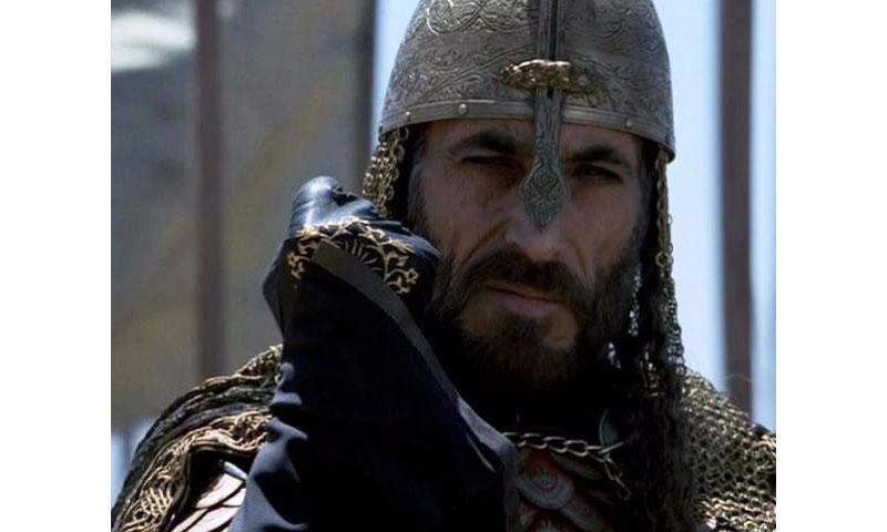 غسان مسعود في فيلم مملكة السماء (يوتيوب)