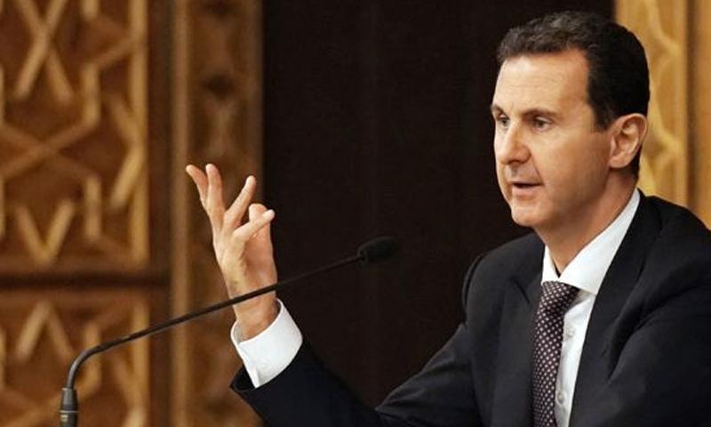 رئيس النظام السوري في اجتماع اللجنة المركزية لحزب البعث العربي الاشتراكي (سانا)