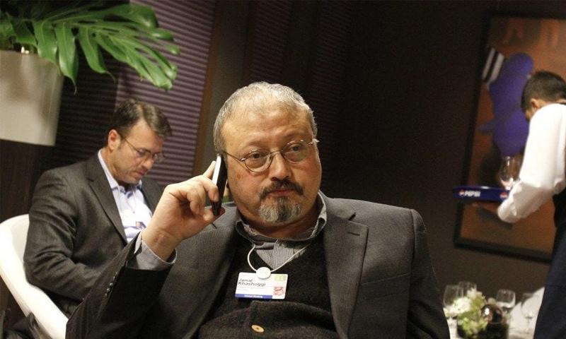الإعلامي والكاتب السعودي جمال خاشقجي (AP)