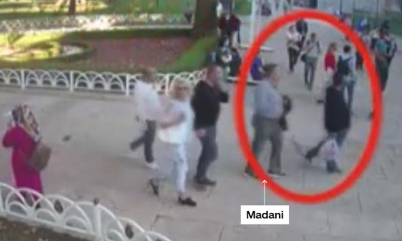 بديل خاشقجي الذي خرج من القنصلية لإيهام السلطات بخروج الصحفي السعودي منها (CNN)
