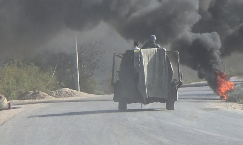 عناصر من تنظيم الدولة في أثناء العمليات العسكرية الدائرة في جيب هجين - 1 من تشرين الأول 2018 (أعماق)