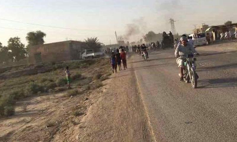 سيارة مفخخة انفجرت في بلدة غارنيج شرقي دير الزور 3 تشرين أول (فرات بوست)